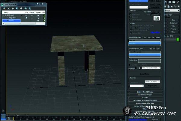 Создание простого пропа для Garry's Mod 13 в 3ds max 2014