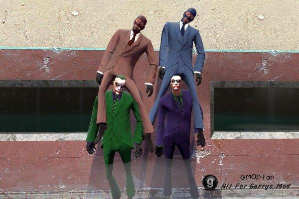 Spy Joker skin hexed