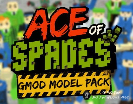 Ace of Spades Model pack