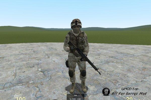 Crysis 2 Marines NPCs and Player models