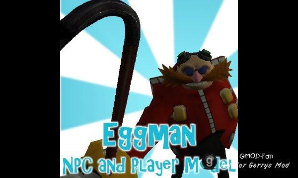 Eggman NPC and Player Model
