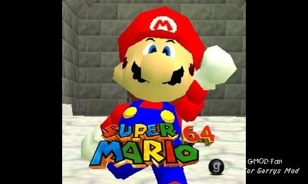 Super Mario 64 Mario Ragdoll