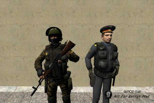Русская полиция.