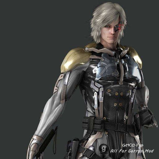 Metal Gear Raiden Player Model Pack