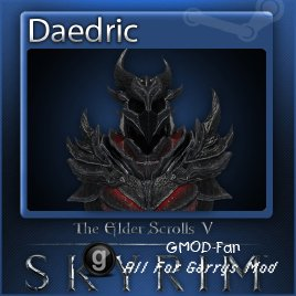 The Elder Scrolls V Skyrim: Daedric Playermodel