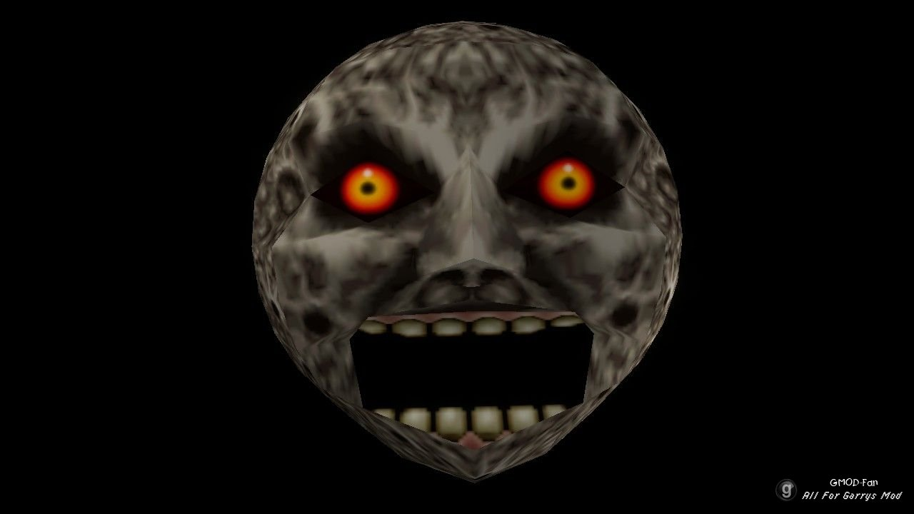 Majoras Mask Moon Giants Majora's Ma...
