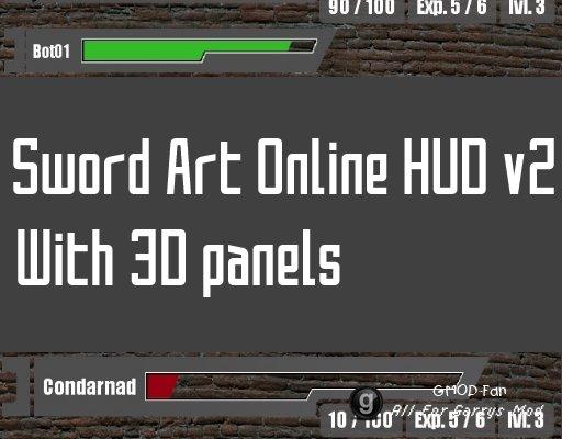 Sword Art Online Hud v2