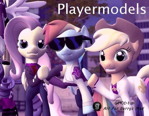 Saints Row Pony Playermodels