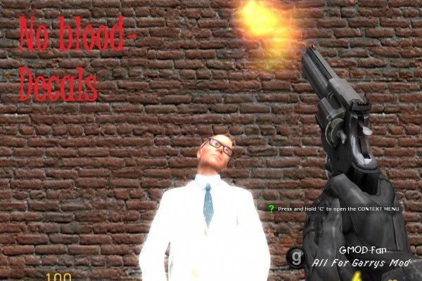 No blood mod