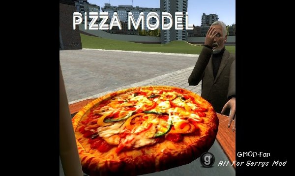 High quality Pizza Model