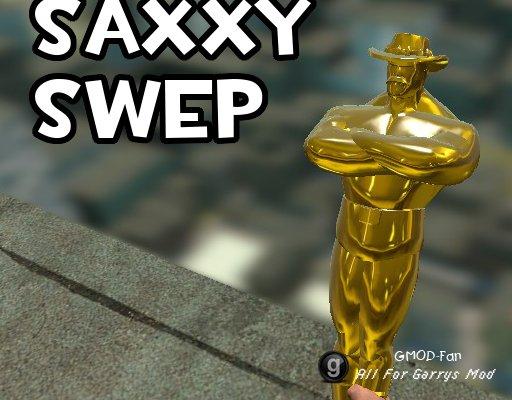 Saxxy SWEP - With c_model!