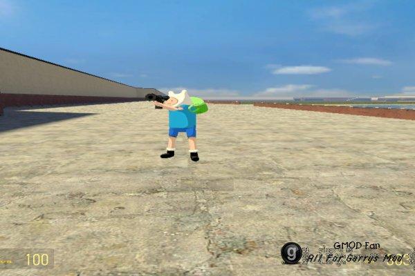 Adventure Time Finn playermodel