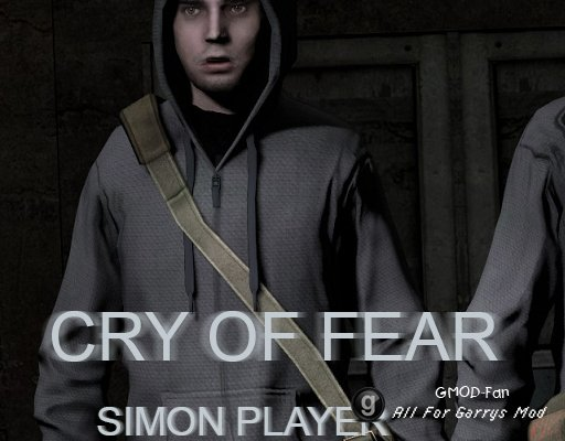 Cry of Fear Simon Playermodel (half-dead)