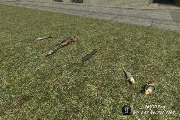 Модели нестандартного оружия из TF2
