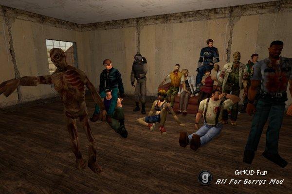 Resident Evil 2 Player Models Pack
