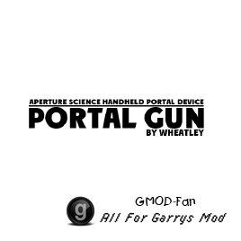 Aperture Science Handheld Portal Device [Portalgun]