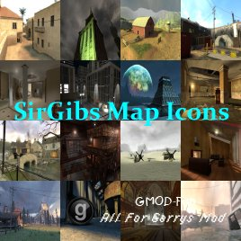 SirGibs Map Icons Categories