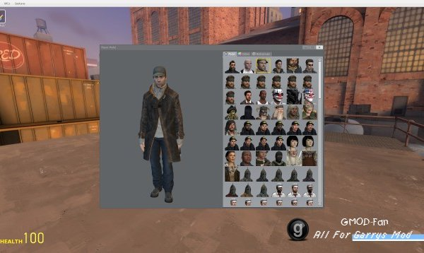 WATCH_DOGS: Aiden Pearce Playermodel