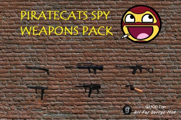 Piratecats Spy Weapons Pack