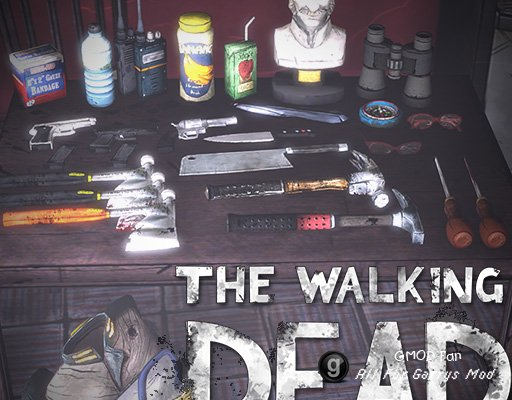 The Walking Dead Prop Pack
