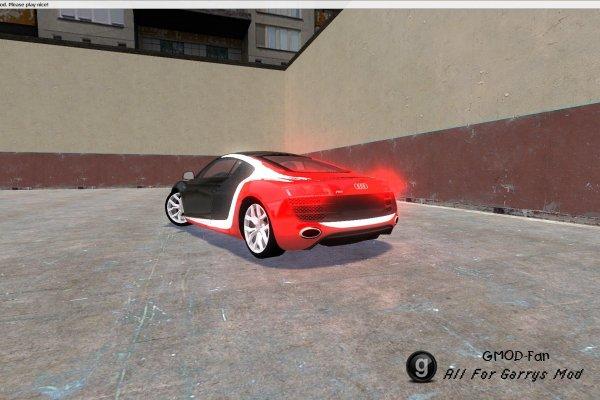 TDM Audi R8 Carbon skin