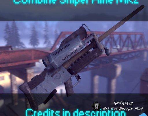 Combine sniper rifle MK2