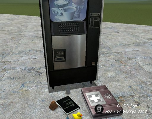 SCP Containment Breach Prop Pack