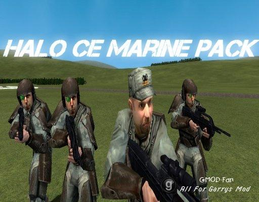 Halo CE Marine Pack