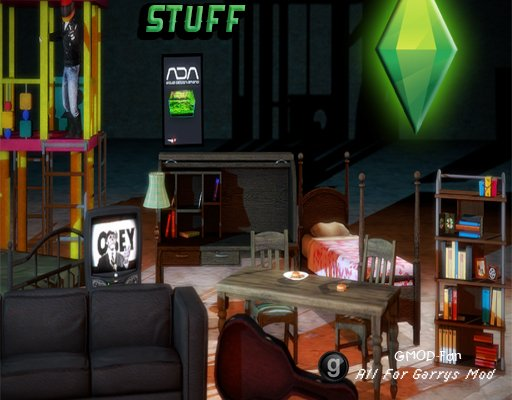 Sims 3 Furniture Props