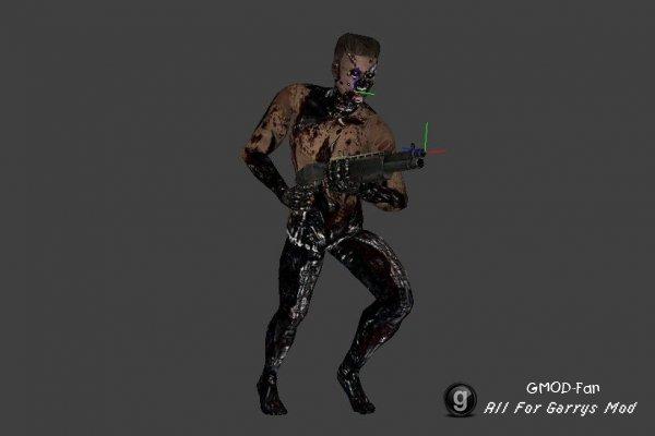 Terminator Salvation player models