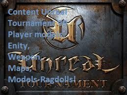Unreal Tournament 99 Content