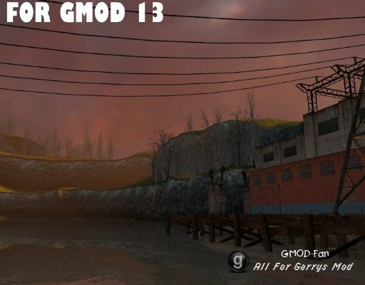 Black Mesa East for Gmod13!