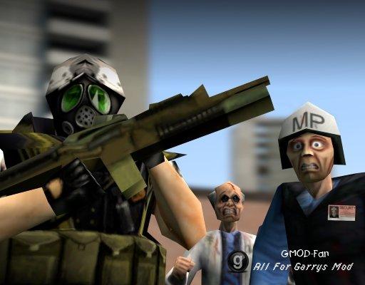 Half-Life Alpha Model Pack