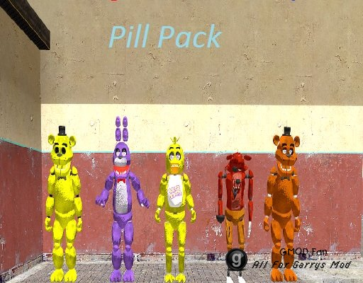 Five Nights at Freddys Pill Pack