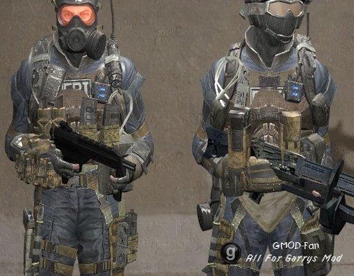Call of Duty:Black Ops 2 - FBI(Ragdoll+PlayerModel+NPC)