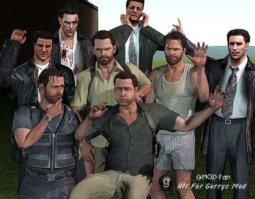 Max Payne Ragdoll Pack #3