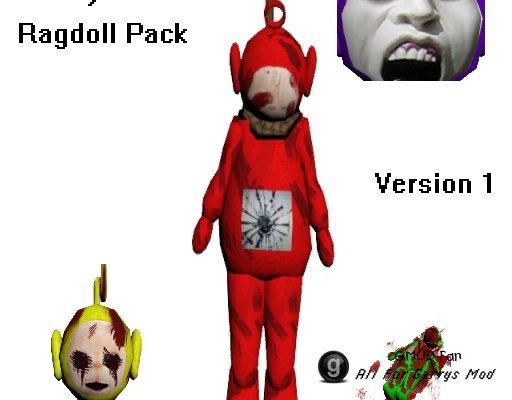 Slendytubbies Ragdoll Pack