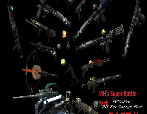 MH's Super Battle Pack PART II