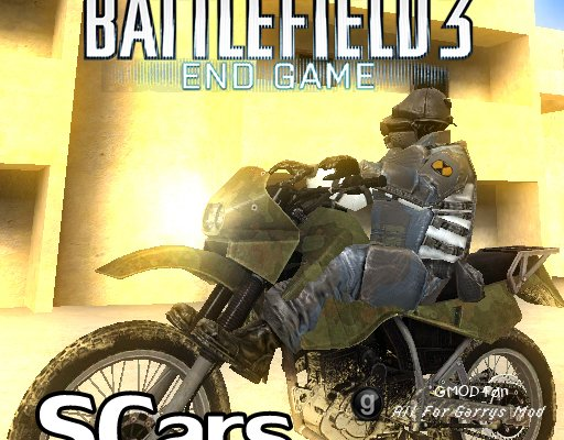 Battlefield 3: End Game - Dirt Bike (SCars)