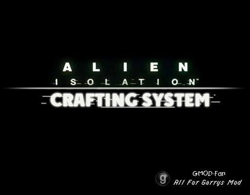Alien Isolation - Crafting System