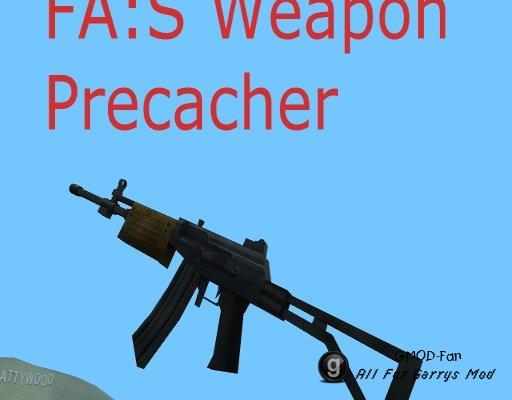 FA:S 2.0 Alpha SWEPs Weapon Precacher