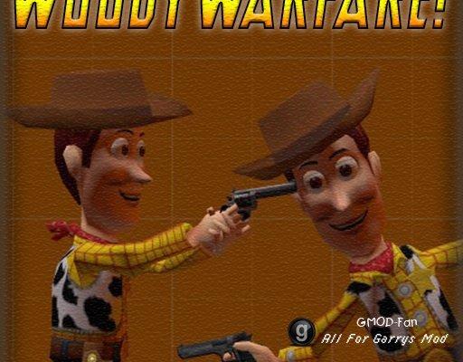 WoodyWarfare! Gamemode