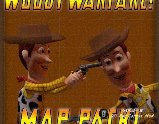 WoodyWarfare! Starter Maps