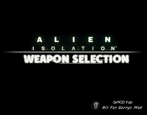 Alien: Isolation - Weapon Selection