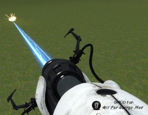 Weaponized Portal Device / Gun