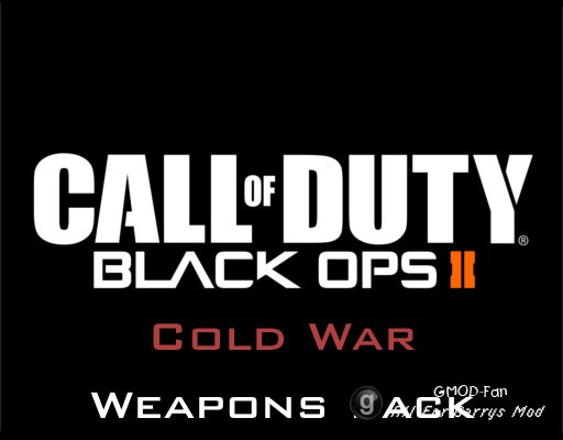 Black Ops II: Cold War Weapons Pack