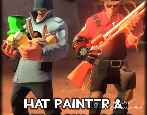 Hat Painter & Crit Glow Tools