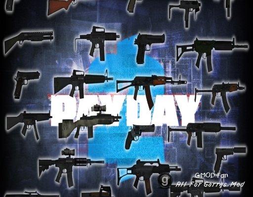 PAYDAY 2 Shotguns