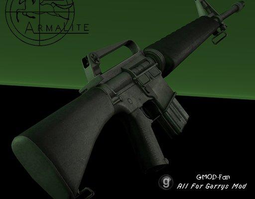 Retro AR15 pack PROPS