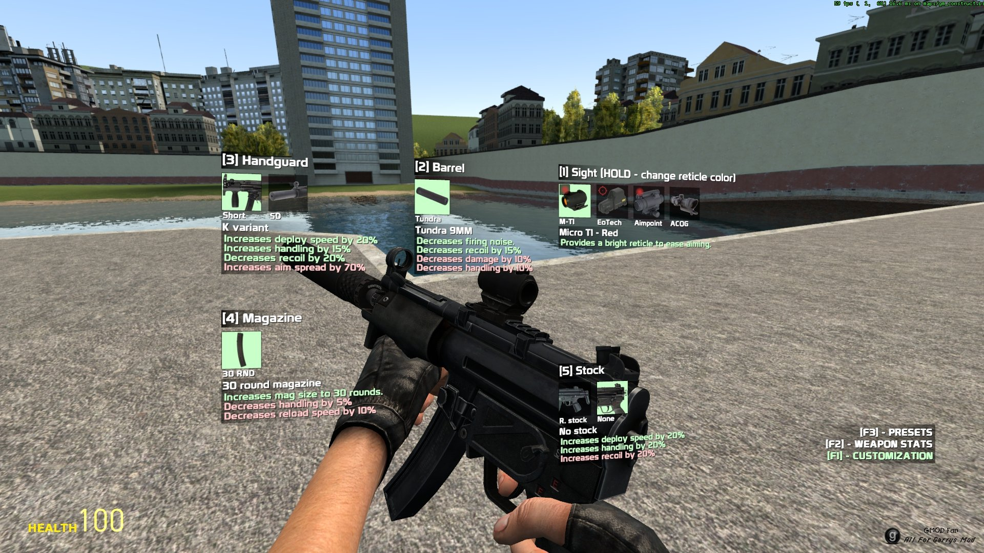 Customizable Weaponry 2 0
